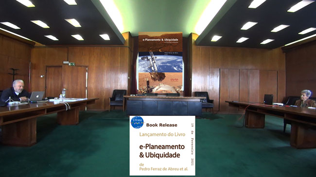 Ferraz de Abreu's Book 'e-Planning & Ubiquity Launch